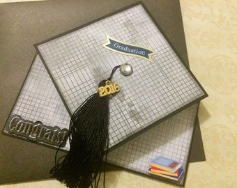 Handmade Graduation Cap Greeting Card
