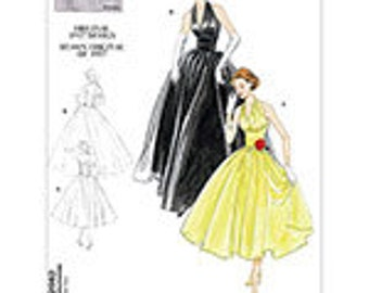 Vogue 2962, New Uncut Sewing Pattern for Misses Dresses, This is an Original 1957 design remade, Size 4-6-8-10,