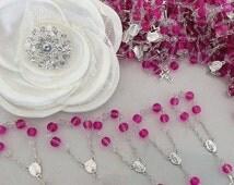 10%off weekend sale 75 pcs Mini Rosaries, First Communion Favors Recuerditos Bautizo 75pz/ Mini Rosary Baptism Favors 75 pcs