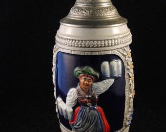Vintage German  Porcelain Mug/beer stein