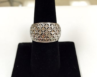 Sterling Silver Woman's Ring ,Size 8
