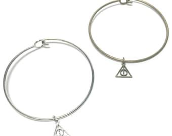 Deathly Hallows Bangle Bracelet