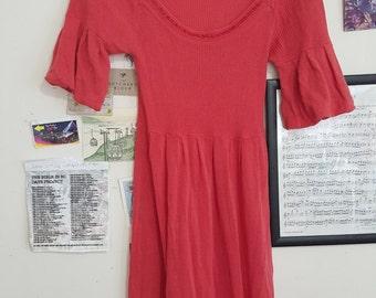 Alannah Hill orange party dress