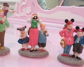 Disney Parks Village Series Disney Parks Family Set of 3 Department 56