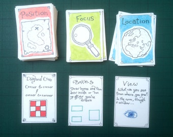Draw Your Food  - Cards
