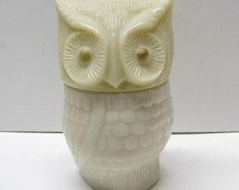 Vintage Avon Owl Bottle / Decanter Figurine, Bottle Is Empty - Collectible AVON - Home Decor
