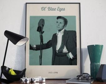 Blue Eyes. High Quality Print.