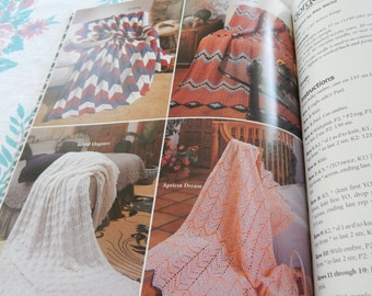 The Ultimate Ripple Afghan Book to Knit & Crochet from American School of Needlework