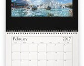 2017 Wall Calendar - Moments of the Magic 4 Parks