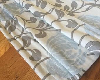Fabric Roman Shades, Flat Roman Shade, White Shades, Any Color, Any Fabric. Blackout Roman Shade Option