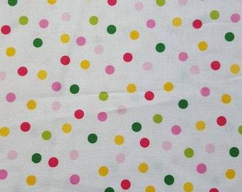 Bright Spoty Fabric 100% Cotton