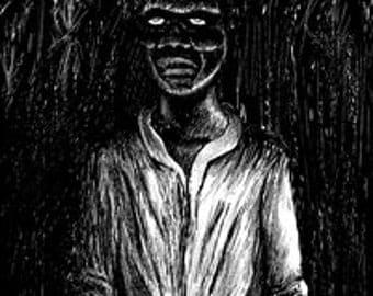 Haitian bokor MAGIC Zombie Makay BOTTLE Baron Samedi