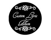 Custom song lyrics on vinyl record music lyric art song lyric art music lovers gift personalized wedding gift anniversary gift