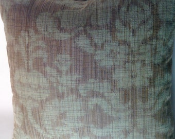 modern damask pillow cover