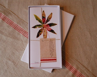 Gift box of Floral Motif Blank Cards