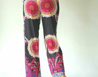 Yoga pants, Jogging Pants Comfortable Causal Trousers Striped Print Pants