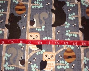Woodland Animal fabric