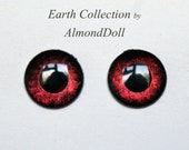 New Earth Collection - ooak Blythe hand painted eye chips no758 by AlmondDoll