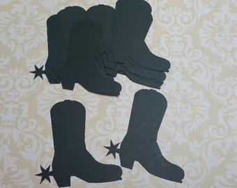 Die Cut Cowboy Boots. #MO-24