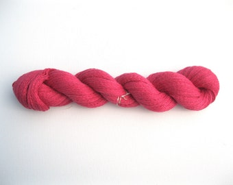 DESTASH Recycled Silk Cashmere Yarn, Pink Freesia, Lace Weight, 780 Yards