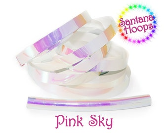 Pink Sky Color shifting Morph Taped Performance Hula Hoop Polypro or HDPE
