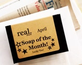 Soap of the Month, 12 Month Soap of the Month Club, 12 month subscription, soap club, monthly, membership
