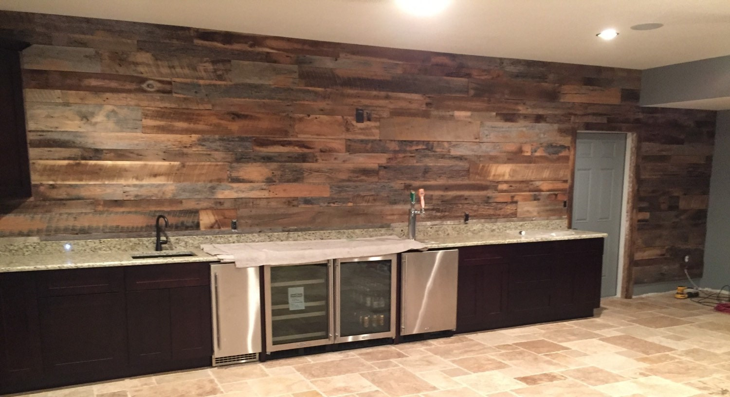 Reclaimed Wood Wall Accent Kits