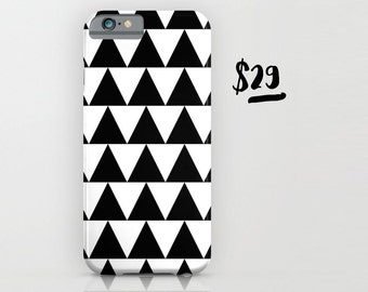 Black and White Triangle Phone / IPod By Pencil Me In // Samsung IPhone IPod Case