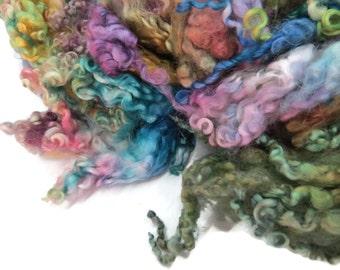 1 oz Premium Leicester wool locks , Garden of Versaille