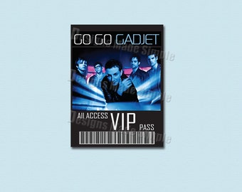 "Custom Concert, Sporting Event or Broadway Show ""VIP Pass""  - Printable"