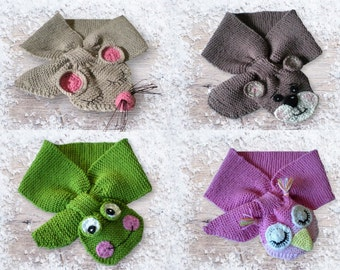 Knitting Tutorial Baby and Toddler Scarf Pattern