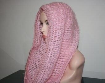No: 28 Freeform crochet hat, wearable art, OOAK