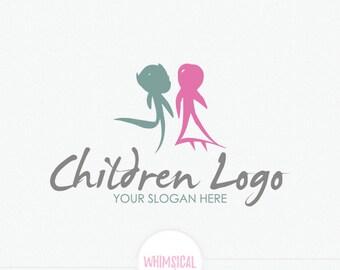 Children brush logo