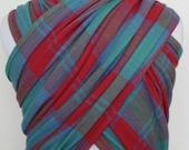 Handwoven Wrap- Lindsay Clan Tartan 3.6m