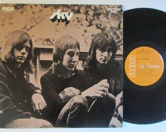 Vinyl Record Sky Self Titled 1970 70's Vintage Rock Album LP