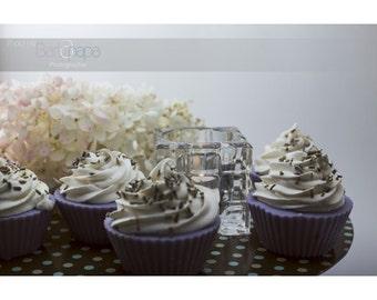Cupcake Lavender / Lavender cupcake