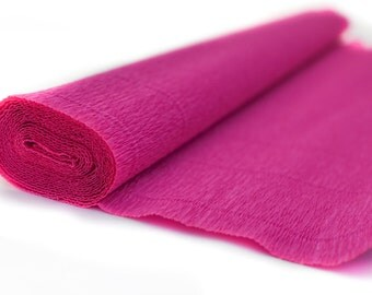 Crepe Paper Roll-140g.- #950 Antico Pink-Gift Wrapping Paper- Paper Flower- Paper Decoration