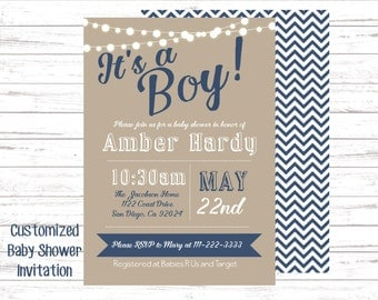 baby boy shower invitationEtsy