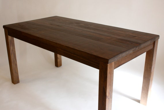 counter height table kitchen island in reclaimed wood24