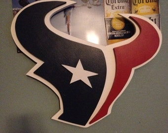 Texans 3D Wooden Logo