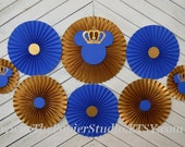 Royal Price Mickey, Set of Eight (8) Paper Rosettes