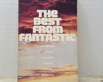 The Best From Fantastic, 1973, Vintage sci fi, science fiction