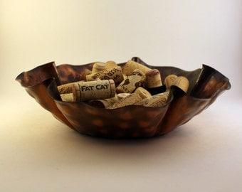 Hammered Copper Bowl