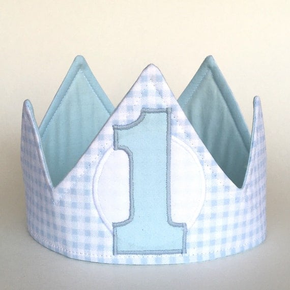 First Birthday Boy Boy Birthday Crown Boy Birthday: Boy First Birthday Crown First Birthday Hat First Birthday