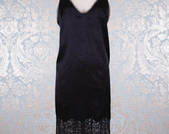 Miriam Dress - Slip Dress with Lace Trims