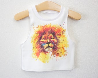 Lion Muscle Tank or Tank for Babies and Toddlers