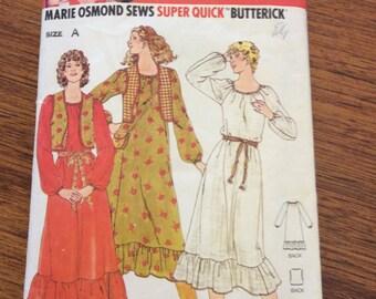 Vintage Marie Osmond Sewing Pattern