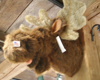 Beautiful Faux Fake Moose Mount Made in the USA!