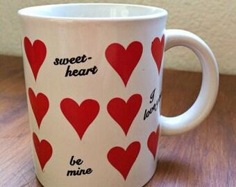 Heart/Valentines Day Mug