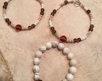 Earrings and Bracelet Set
